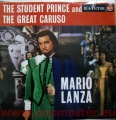 MARIO LANZA THE STUDENT PRINCE AND THE GREAT CARUSO  MONO RB-16113