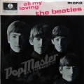 The Beatles All My Loving MONO GEP 8891 7TCE790-1N / 7TCE 791-1N