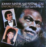 JOHNNY MATHIS AND NATALIE COLE UNFORGETTABLE  CBS 10042 TANIE PŁYTY