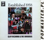 Cliff Richard & The Shadows  Established 1958  Columbia ‎– SCX 6282  Vinyl, LP, Album, Stereo