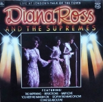 Diana Ross And The Supremes - Live At London's Talk Of The Town MFP 50447  Funk / Soul   Sklep z Winylami