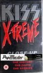 Kiss X-treme Close-Up  The History  The Facts, The Stories  085 394-3 VHS Kaseta Video
