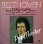 Christian Ferras, Pierre Barbizet  Beethoven Two Sonatas For Violin And Piano  SMS 2702