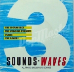 Various ‎– Sounds - Waves 3  WAVES 3 Promo Pixies Sugarcubes Pogues