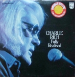 Charlie Rich ‎– Fully Realized  2 x Winyle 9299 114 Stereo