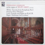 Fernando Germani at The Organ of Selby Abbey Liszt, Bach, Widor,Reger SXLP 30136