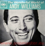ANDY WILLIAMS THE WONDERFUL WORLD OF ANDY WILLIAMS AGG 320053 VINYL WINYL  Винил
