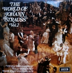 THE WORLD OF JOHANN STRAUSS VOL.2 VIENNA PHILHARMONIC WILLI BROSKOVSKY HANS KNAPPERTSBUSCH SPA 73