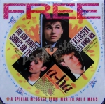 "A-HA  The Sun Always Shines On T.V.  + Flexi Exlusive U.S. Dance Remix  and Special Message From Morten, Pal,& Mags  W8846 7"" Singiel and Flexi"