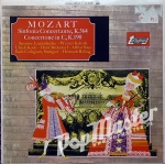 Mozart Sinfonia Concertante, K.364, Concertone In C, K.190 TV 4098 Classical Music On Vinyl