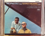 Nat King Cole / George Shearing ‎– Nat King Cole Sings / George Shearing Plays ,Capitol Records ‎– W 1675 Vinyl, LP, Mono