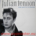 "JULIAN LENNON NOW YOU'RE IN HEAVEN 7""  VS 1154 Vinyl Winyle Пластины Schallplatten"