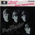 The Beatles All My Loving MONO GEP 8891 7TCE790-1N / 7TCE 791-1N Vinyl Schallplatte