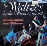 WALTZ BY THE STRAUSS FAMILY ARTHUR FIEDLER AND THE BOSTON POPS ORCHESTRA CDS 1085