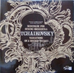 Tchaikovsky Serenade For String Orchestra In C Major, Op. 48 Variations On Rococo Theme For Cello And Orchestra, Op. 33 SMSC 2188