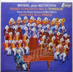 Brendel plays Beethoven Piano Concubine Mehta Vienna pro Musica Orchestra  TV 34209S
