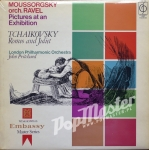 Moussorgsky Orch. Ravel Pictures At An Exhibition Tchaikovsky Romeo And Juliet London Philharmonic Orchestra John Pritchard CFP 106 Płyta Winylowa Muzyka Poważna