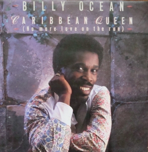 Billy Ocean ‎– Caribbean Queen (No More Love On The Run)   JIVE T 77 Maxi Singiel