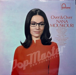 Nana Mouskouri with The Athenians Over & Over STL 5511   Plattenladen Schallplatten Folk, Pop