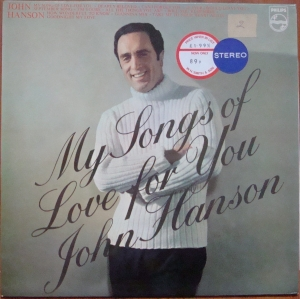 John Hanson - My Songs Of Love For You SBL.7892   Easy Listening