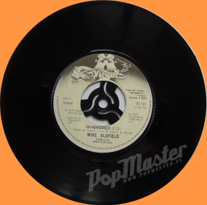 Mike Oldfield In Dulci Jubilo VS 131 Black and White Virgin Label  LA Kings
