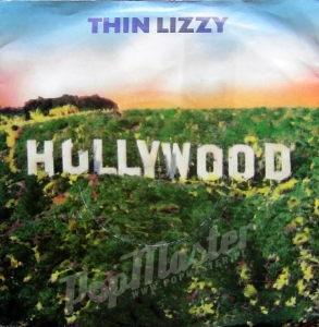 "Thin Lizzy Hollywood (Down On Your Luck) LIZZY 10 7"" SINGIEL WINYLE Hard Rock"