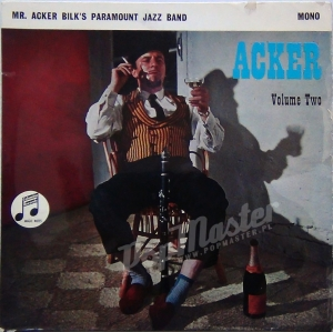 Mr. Acker Bilk's Paramount Jazz Band Acker Volume Two MONO  SEG 8102 E.P. Jazz Winyl