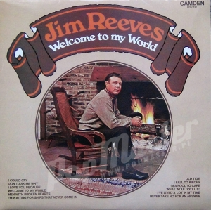 Jim Reeves Welcome To My World  CDS 1152 Mint