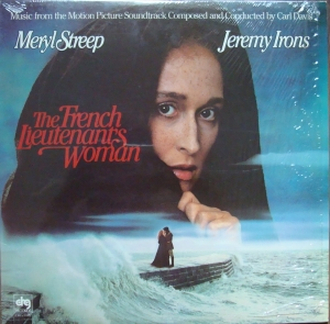 Carl Davis  ‎– The French Lieutenant's Woman  DRG 6106  Vinyl