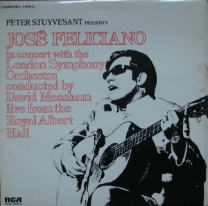 José Feliciano ‎– In Concert With The London Symphony Orchestra - Live From The Royal Albert Hall  PS 101 Stereo