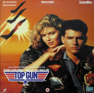 Top Gun Laserdisc (1986)Tom Cruise Kelly McGillis Val Kilmer [PLFEB 33631] 5022626336313