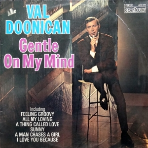 Val Doonican Gentle On My Mind  6870-599  Easy Listening   Winyle