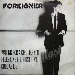 Foreigner Waiting For Girl Like You K11696