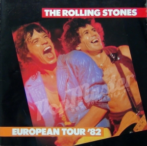 The Rolling Stones European Tour 82 RARE Programme