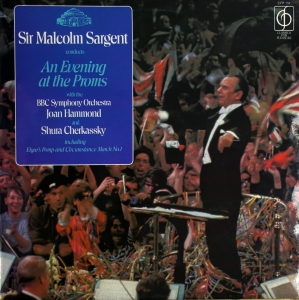 Malcolm Sargent ‎– An Evening At The Proms Classics For Pleasure ‎– CFP 154