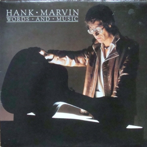 Hank Marvin ‎– Words And Music   The Shadows POLD 5054  Rock