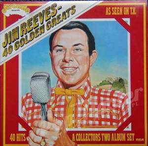 Jim Reeves 40 Golden Greats  40 Hits A Collectors Two Album set ADE P16