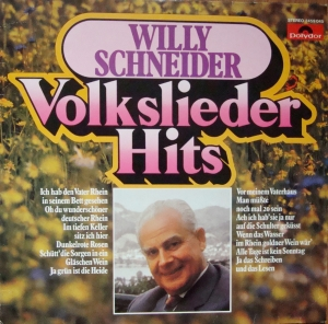 Willy Schneider Volkslieder Hits  2459 045 Vinyl
