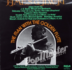 James Galway The Man With The Golden Flute RCA LRL1 5127 Muzyka Klasyczna Winyle