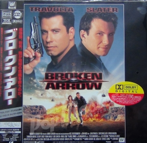 BROKEN ARROW TRAVOLTA SLATER  LASER DISC PILF-2242