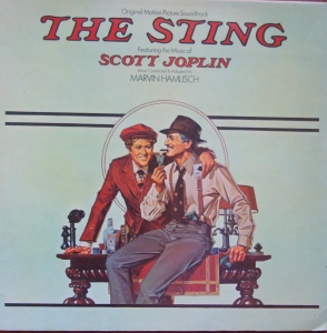 Marvin Hamlisch ‎– The Sting (Original Motion Picture Soundtrack) MCF 2537 Vinyl Records Jazz, Stage & Screen