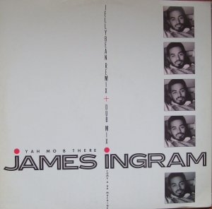 "James Ingram ‎– Yah Mo B There 12"" W9394(T)  Electronic  Disco  Winyle"