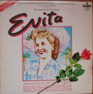 Evita The Sounds International Orchestra – Evita  SHM 929 Vinyl
