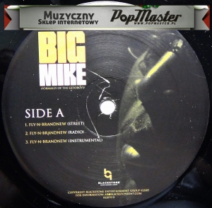 "Big Mike Here I Am BL0191-0 12""  Promo Copy"
