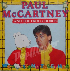Paul McCartney And The Finchley Frogettes We All Stand Together R 6086 A-1-1-1/B-1-1-1