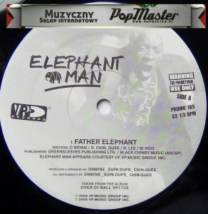 Elephant Man Father Elephant PROMO 185 Promo Copy
