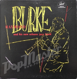 Burke Raymond And His New Orleans Jazz Band GHB-109 STEREOPHONIC Jazz Vinyl-Schallplatten