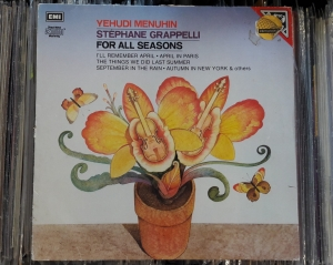 Yehudi Menuhin, Stéphane Grappelli ‎– For All Seasons ,EMI ‎– EL 27 0112 1  Vinyl, LP, Album