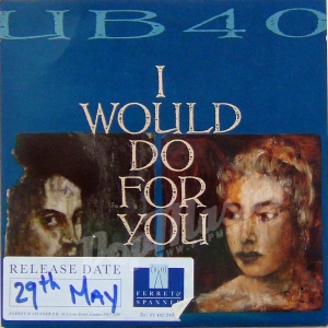 UB 40 I Would Do For You  Promo Copy DEP 32