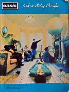 OASIS DEFINITELY MAYBE SONGBOOK  1994
